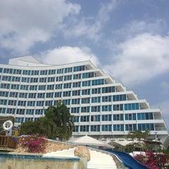 Photo taken at Hilton Cartagena by Jaime Andrés Toledo on 2/17/2013