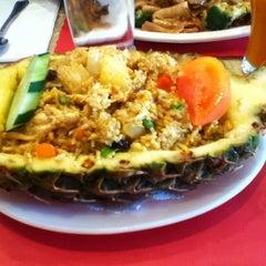 Photo taken at Tiny Thai by Erin on 3/30/2013