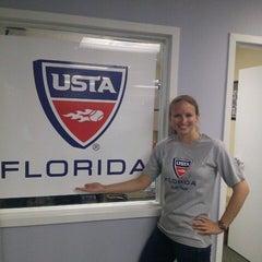 Photo taken at USTA Florida by Brad W. on 4/21/2013