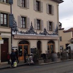 Photo taken at Café du Marché by Olga P. on 2/1/2014
