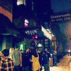 Photo taken at Crossroads Irish Pub by Lawrence on 4/13/2013