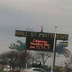 Photo taken at Mall St. Matthews by Christopher S. on 1/5/2013