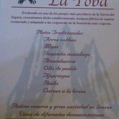 Photo taken at La Toba by Miralmundo H. on 11/24/2012