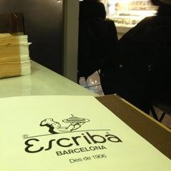 Photo taken at Escribà by Sandra M. on 1/27/2013