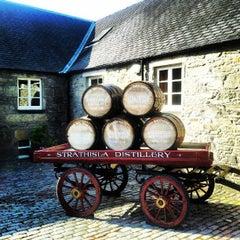 Photo taken at Strathisla Distillery by Johnny M. on 9/15/2012