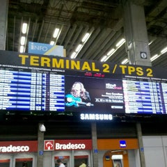 Photo taken at Terminal 2 (TPS2) by Marcio S. on 9/15/2012