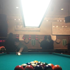 Photo taken at Billco's Billiard and Darts by Dylan E. on 12/13/2012