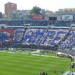Photo taken at Estadio Azul by Beto C. on 4/13/2013