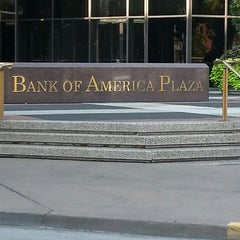 Photo taken at Bank of America Plaza by Lakiesha D. on 9/26/2013