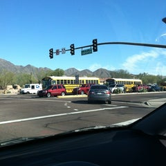 Photo taken at Desert Canyon Middle School by El C. on 1/31/2012