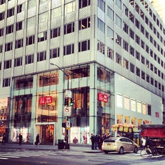 Photo taken at UNIQLO 5th Ave by Seigo I. on 11/29/2012