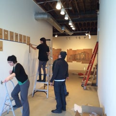 Photo taken at Soo Visual Arts Center by Teri on 3/29/2014