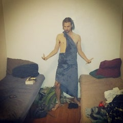 Photo taken at Sin City Hostel by Steven B. on 5/9/2013