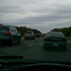 Photo taken at B-W Pkwy (MD 295) At Powder Mill Rd Interchange by Christian💋 on 10/28/2012