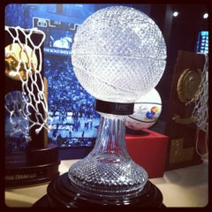 Photo taken at Allen Fieldhouse by Melinda W. on 10/31/2012