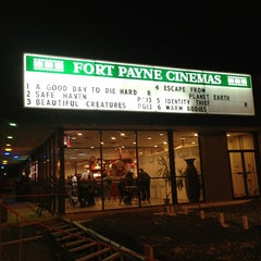 Photo taken at Fort Payne Cinemas by angela b. on 2/16/2013