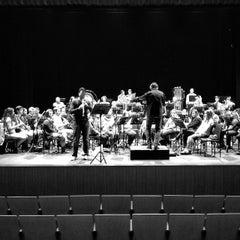 Photo taken at Teatro Sierra de Aracena by Miguel Ángel on 11/22/2014