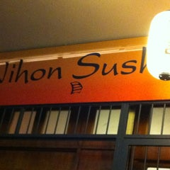 Photo taken at Nihon Sushi by Maria Celina on 12/2/2012
