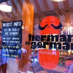 Photo taken at Herman ze German by Annika on 7/10/2013
