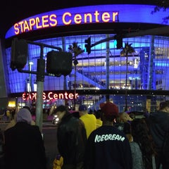 Photo taken at Staples Center by Tony P. on 11/11/2013