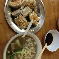 Photo taken at Lam Zhou Handmade Noodle by Emily C. on 11/3/2012