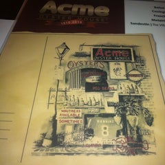 Photo taken at Acme Oyster House - Baton Rouge by Christie E. on 2/27/2013
