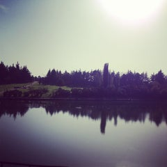 Photo taken at Parco Lago Nord by Simone M. on 10/21/2012