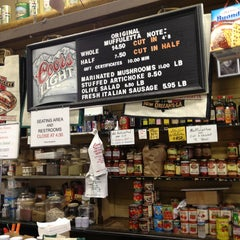 Photo taken at Central Grocery Co. by Desmond on 2/19/2013