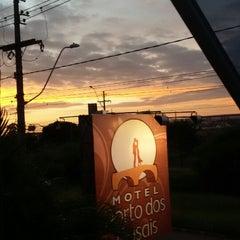 Photo taken at Motel Porto dos Casais by Manoela M. on 2/16/2015