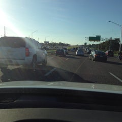 Photo taken at Interstate 4 & FL State Route 408 by Wayne F. on 12/19/2015
