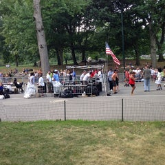 Photo taken at Central Park Dance Skaters Association (CPDSA) — Free Roller Skating Rink by Adma D. on 9/6/2014