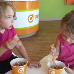 Photo taken at Orange Leaf by Peter W. on 6/22/2013