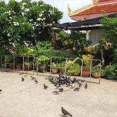 Photo taken at วัดทองใน (Wat Thongnai) by Posswii on 6/19/2014