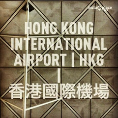 Photo taken at Hong Kong International Airport 香港國際機場 (HKG) by Chawalit K. on 7/23/2013