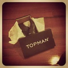 Photo taken at Topman by Chawalit K. on 12/21/2012