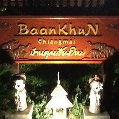 Photo taken at บ้านคุณ เชียงใหม่ | BaanKhun Chiang Mai by Malee T. on 5/25/2013