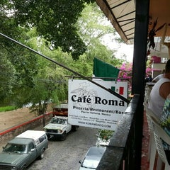Photo taken at Cafe Roma by Nancy R. on 3/8/2016