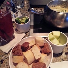 Photo taken at The Melting Pot by Veronica H. on 4/19/2013
