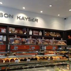 Photo taken at Maison Kayser by Yukari on 2/1/2013