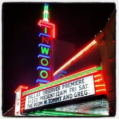 Photo taken at Inwood Theatre by Adam D. on 11/18/2012