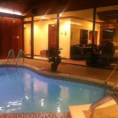 Photo taken at Sybaris Pool Suites by Maher on 11/30/2012