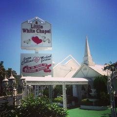 Photo taken at A Little White Wedding Chapel by Chrissie L. on 6/6/2013