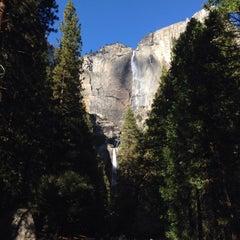Photo taken at Lower Yosemite Falls by Bkwm J. on 11/4/2015