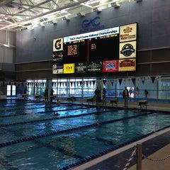 Photo taken at Greensboro Aquatic Center by Vika A. on 4/2/2013
