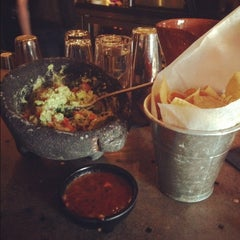 Photo taken at Zocalo Back Bay Mexican Bistro & Tequila Bar by Francisca T. on 4/28/2013