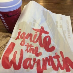 Photo taken at Starbucks by Charmaine D. on 12/6/2014