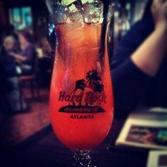 Photo taken at Hard Rock Cafe Atlanta by Laura M. on 1/12/2013