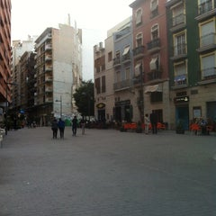 Photo taken at Plaza San Cristóbal by David on 4/17/2014