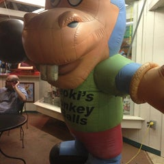 Photo taken at Donkey Balls Outlet by Paul E. on 1/29/2013