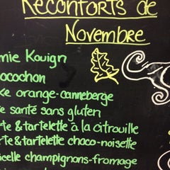 Photo taken at Mamie Clafoutis by Claire on 11/11/2012